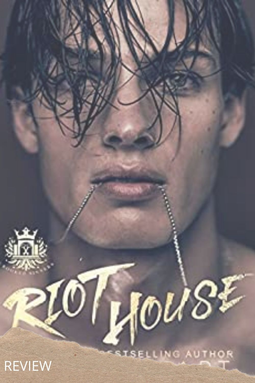 Riot House pin